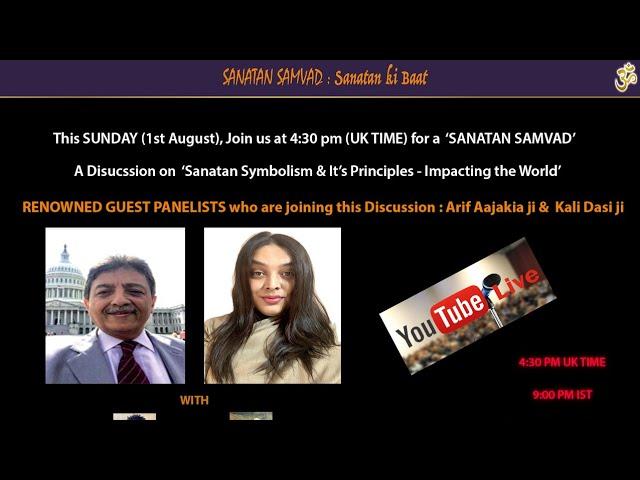 SANATAN SAMVAD - Sanatan Symbolism & Its Principles - Impacting the world
