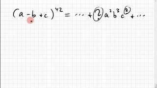 KB.11 (a-b+c) hoch 42 auflösen
