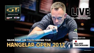 Hangelar Open 2017 powered by Touch / German Tour & REELIVE Day 1