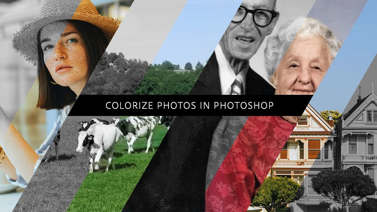 How to Colorize Photos in Photoshop - #PHOMO