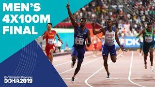Men's 4x100m Relay Final | World Athletics Champio...