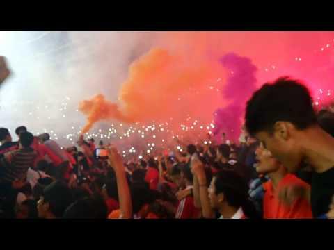 Curva Nord Persija #TrofeoPersija2015 (vs Arema)