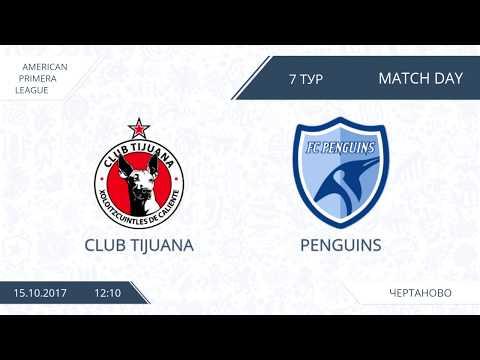AFL17. America. Primera. Day 7. Club Tijuana - Penguins