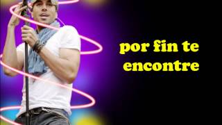 Enrique Iglesias - Finally Found You feat. Sammy Adams (Subtitulada al español)