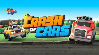 Crash of Cars - REAL-TIME Epic MULTIPLAYER Car Racing Battle Game (iOS, Android)