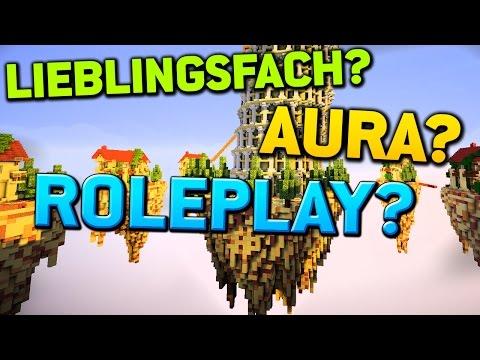 ROLEPLAY? LIEBLINGSFACH? ICH DDOSE? - Minecraft Skywars: FRAGE & ANTWORT