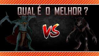 Skyrim - Vampiro vs. Lobisomem : Qual o melhor ?