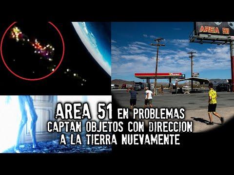 AREA 51 | Captan objetos con dirección a la Tierra nuevamente