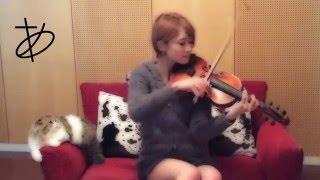 【ヲタリスト Ayasa】バイオリンで「バレンタイン・キッス」を弾いてみた