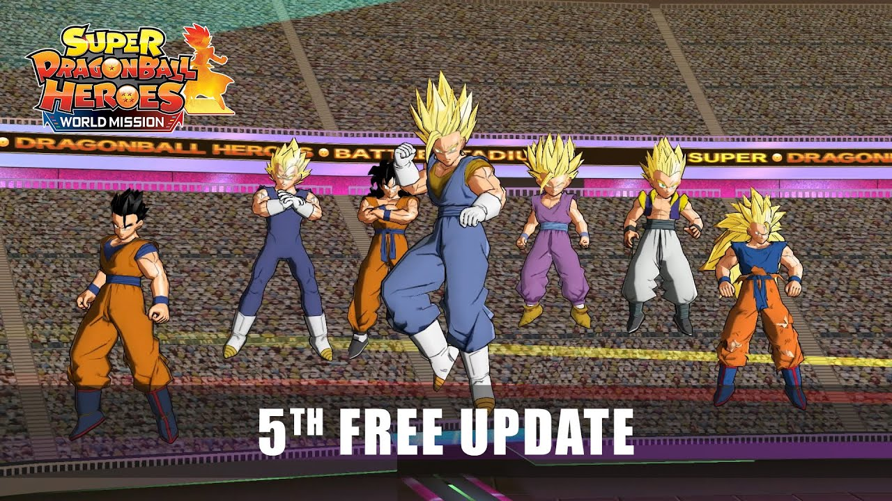 Super Dragon Ball Heroes World Mission Free Update 5 Trailer Youtube