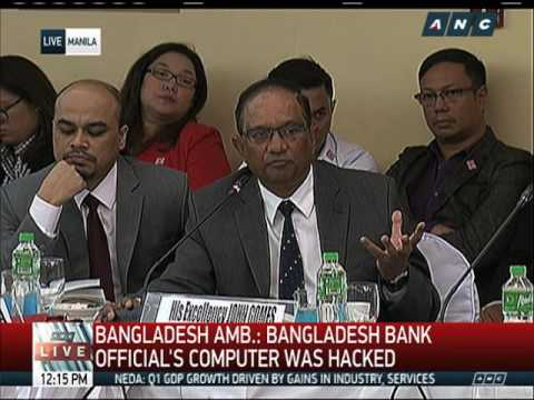 Hackers in $81-M heist not Filipino nor Bangladeshi: envoy