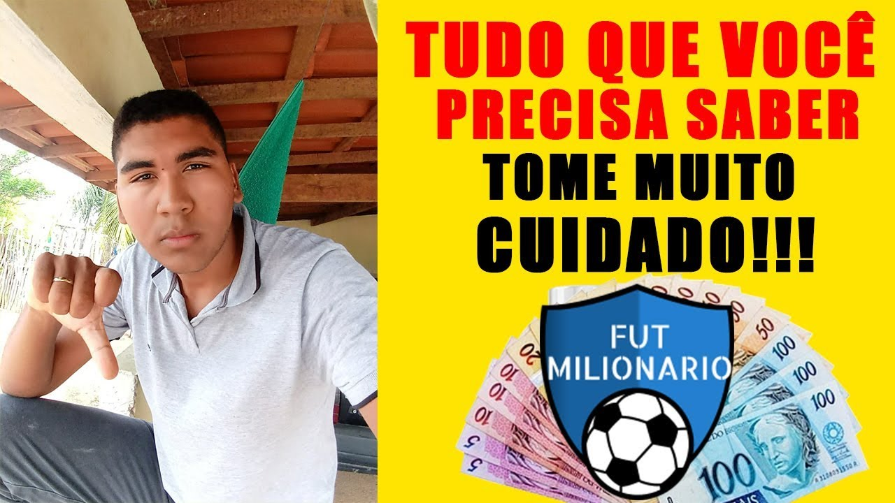 futebol milionario é fraude