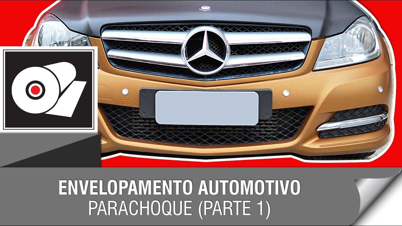 Artesanato Lembrancinhas De Aniversario ~ Envelopamento Automotivo Parachoque dianteiro (parte 1) YouTube