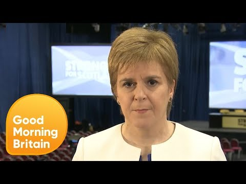 Nicola Sturgeon Wants Clarity on Brexit Before Next Scottish Referendum | Good Morning Britain