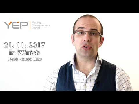 Young Entrepreneur Panel am 21.11.2017 in Zürich