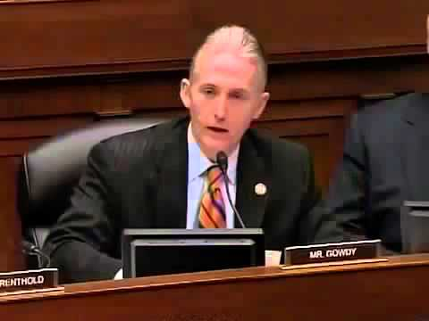 Susan Rice Caught Lying About Benghazi Rep Trey Gowdy Whistleblower Questioning