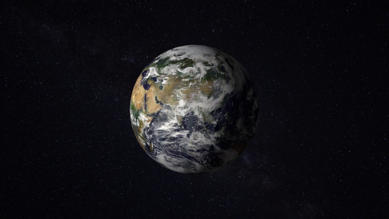 Planet Earth World Planets Outer Space Galaxy No Copyright