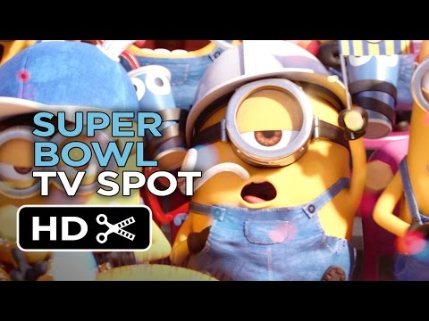 Minions Official Super Bowl TV Spot (2015) - Despicable Me Prequel HD