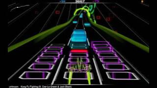 Audiosurf:Cee-Lo Green & Jack Black - Kung Fu Fighting