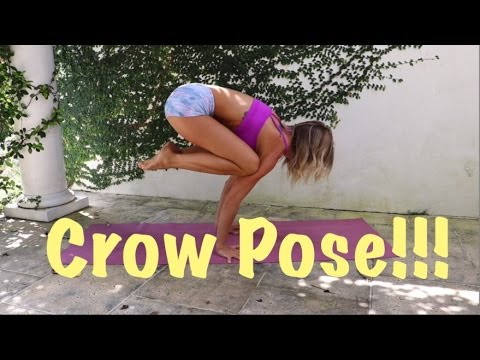 yoga for dummies crow pose bakasana  youtube