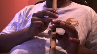 "Hindi song on flute - Chalo Dildar Chalo Chand Ke Paar Chalo - ""Travails with my flute"""