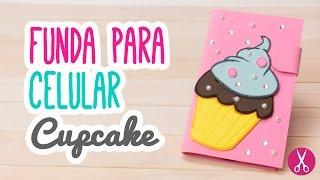 Funda para Celular de Foami Casera | Haz tu Funda para Móvil Cupcake | Catwalk ♥