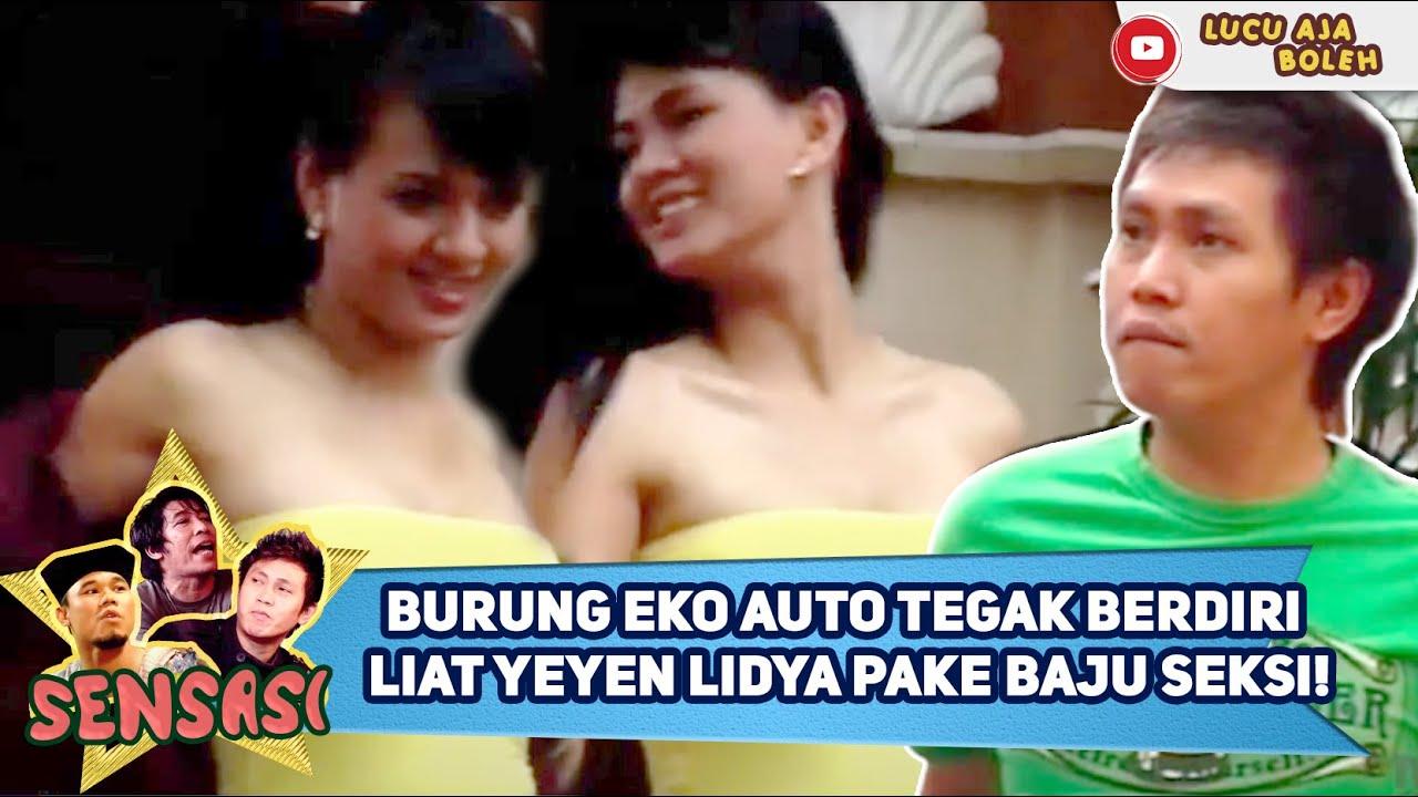 Download BURUNG EKO AUTO TEGAK BERDIRI, LIAT YEYEN LIDYA PAKE BAJU SEKSI! - SENSASI