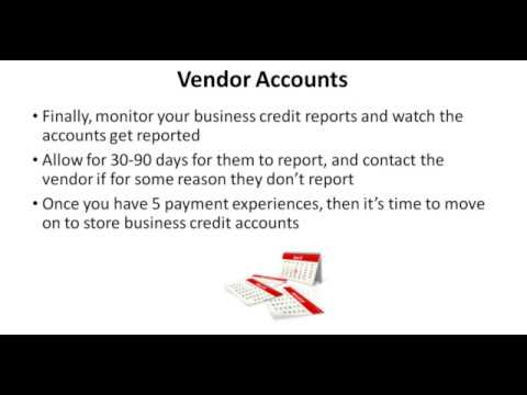 How To Get Vendor Credit For A New Business Chaniya Business