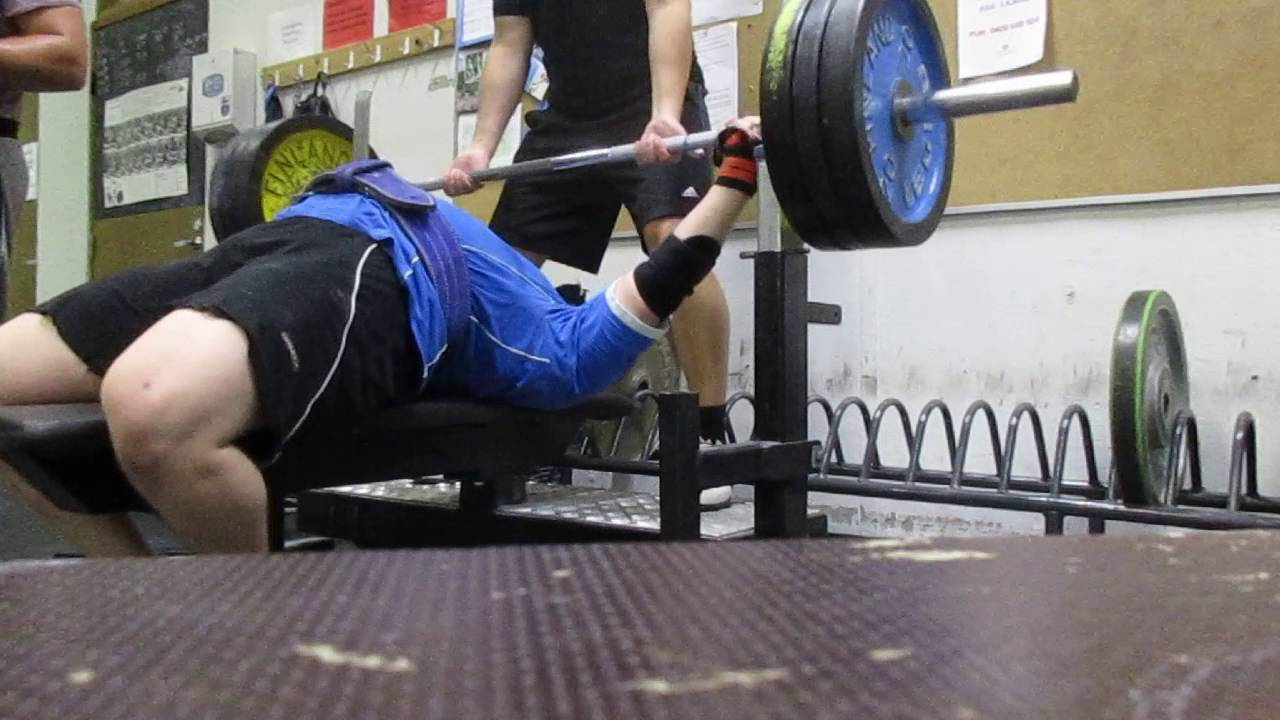 Penkki 130kg Max Bensh Press 287 Pounds Tehty 19 8 16