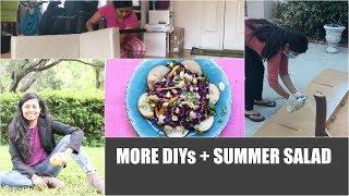 MORE DIYs + SUMMER SALAD Red Purple Cabbage Salad Video Recipe   Bhavna