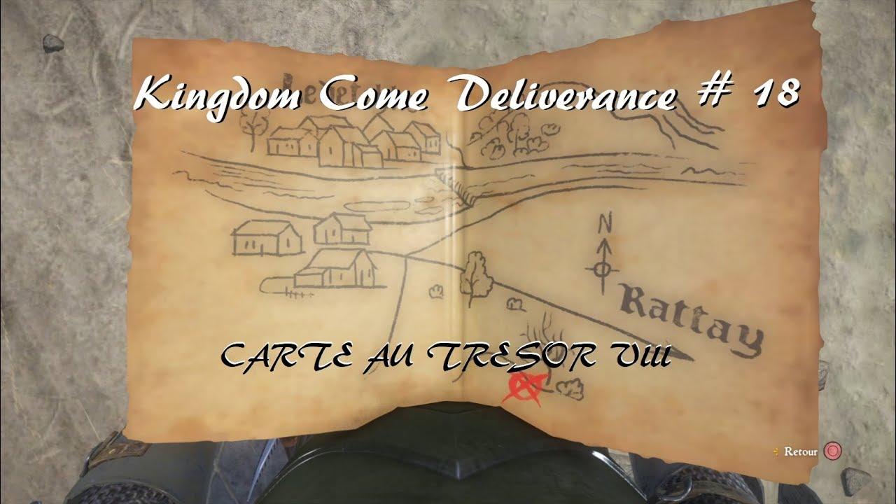 Carte Au Tresor Kingdom Come.Kingdom Come Deliverance Carte Au Tresor Viii