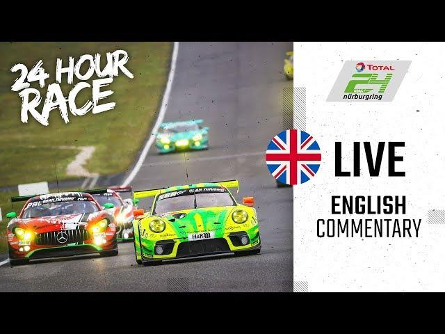 ADAC TOTAL 24h-Race 2019 Nurburgring   English