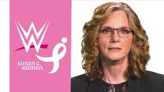 WWE employee Holly offers an important message during Breast Cancer Awareness Month
