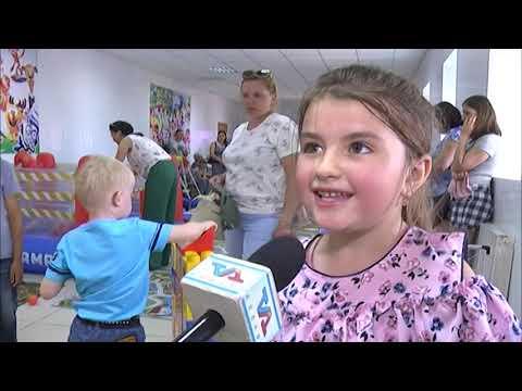 Детский развлекательный центр открылся в Камыстинском районе