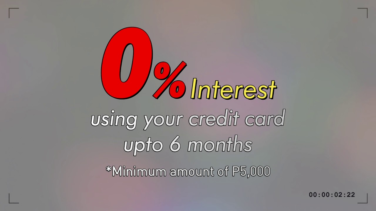 Zero % Interest for your Vehicle Servicing needs!