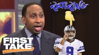 Stephen A. Doesn't Understand The Affection For Tony Romo | First Take | April 4, 2017