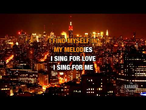 Bird Set Free in the style of Sia | Karaoke with Lyrics