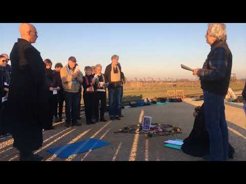 Memorial Service for Zen Peacemakers Founder Roshi Bernie Glassman, Auschwitz-Birkenau, 11/6/2018