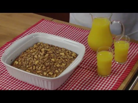 Apple Cinnamon Baked Oatmeal How-To Video