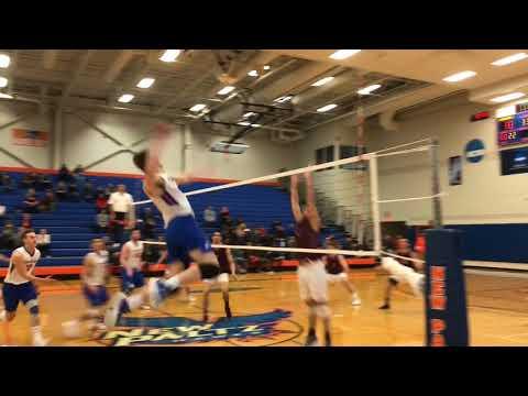 SUNY New Paltz Men's Volleyball vs. Springfield College (3/8/18)