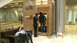 Moscow airport debuts the Sleepbox