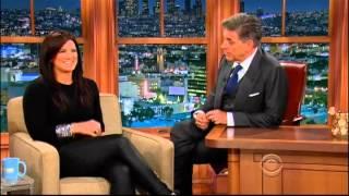 Craig Ferguson 4/7/14E Late Late Show Gina Carano