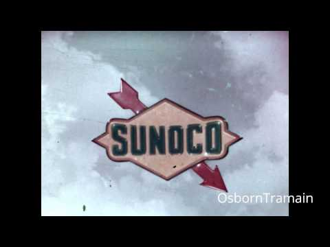 1966 Sunoco Commercial  -  Dick Turfeld Voiceover - Featuring Byron Morrow as the Father