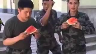 Download Video Tentara Makan Semangka Tercepat MP3 3GP MP4