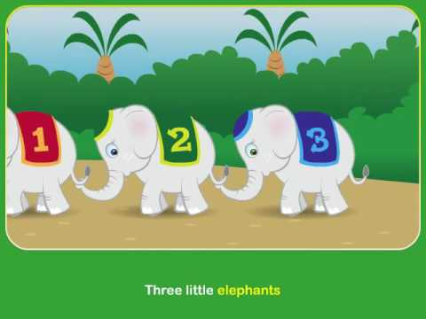 Five Little Elephants Song