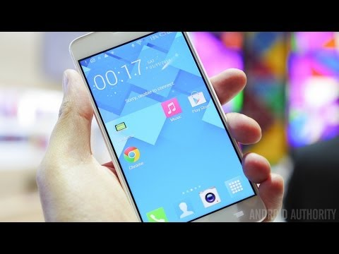 Alcatel OneTouch Idol X+ Hands On! [CES 2014]