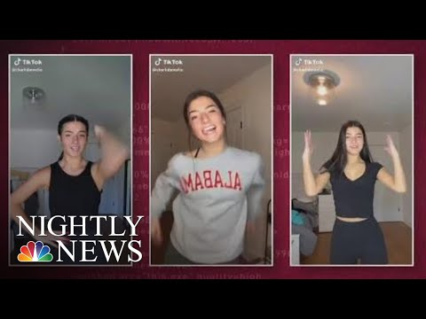 How One Teen Is Using Her TikTok Fame To Give Back | NBC Nightly News
