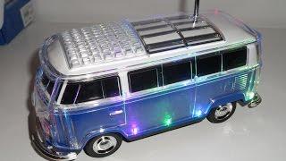 UNBOXING test WS-267 - CAR SPEAKER USB/ FM RADIO BLUETOOTH