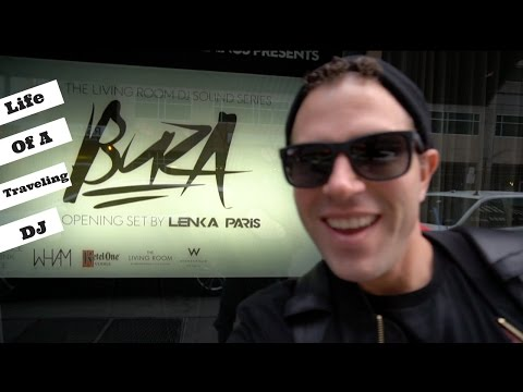 Life of a Traveling Dj | Buza Djs in Minneapolis at Living Room | Vlog's by Buza