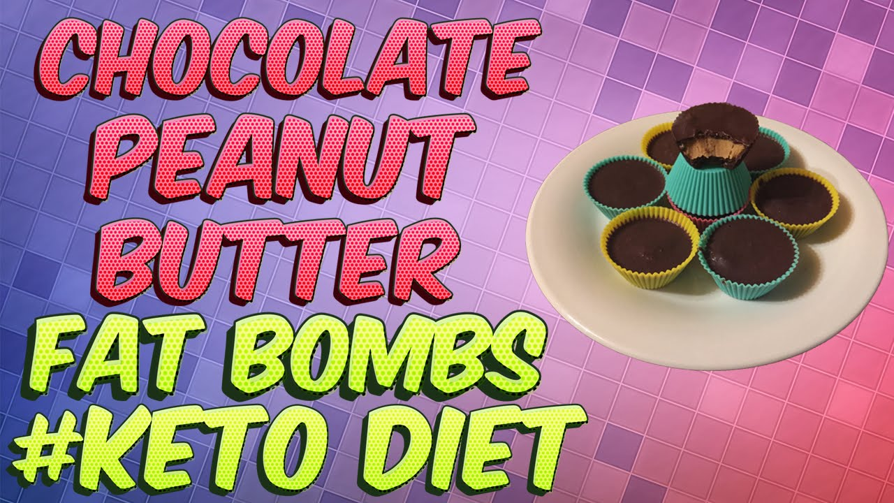 Chocolate Peanut Butter Fat Bombs - Low Carb High Fat Keto ...
